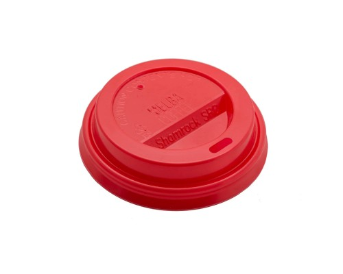 Melba Red Coffee Lids - 8 oz (1000 pack)