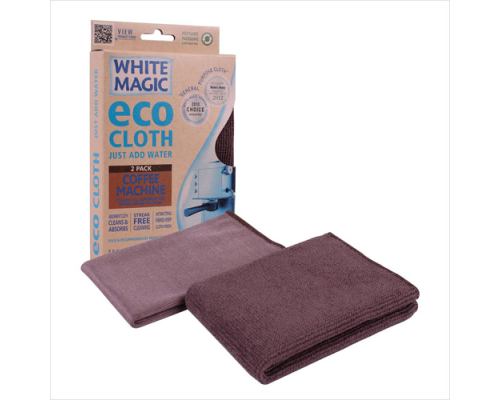 White Magic eco cleaning cloth 2 pack