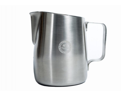 Brushed Stainless Steel Tapered Milk Jug