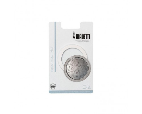 Bialetti Stainless Steel Filter & Seal