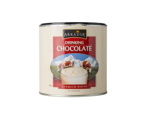 ARKADIA Premium White Drinking Chocolate (1Kg)
